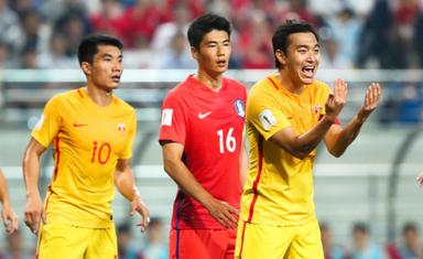 也说国足:2016世预赛2-3憾负韩国